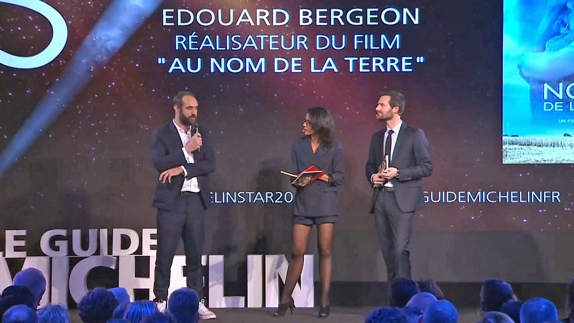 """Edouard Bergeon - Réalisateur du film """"Au nom de la terre"""""""
