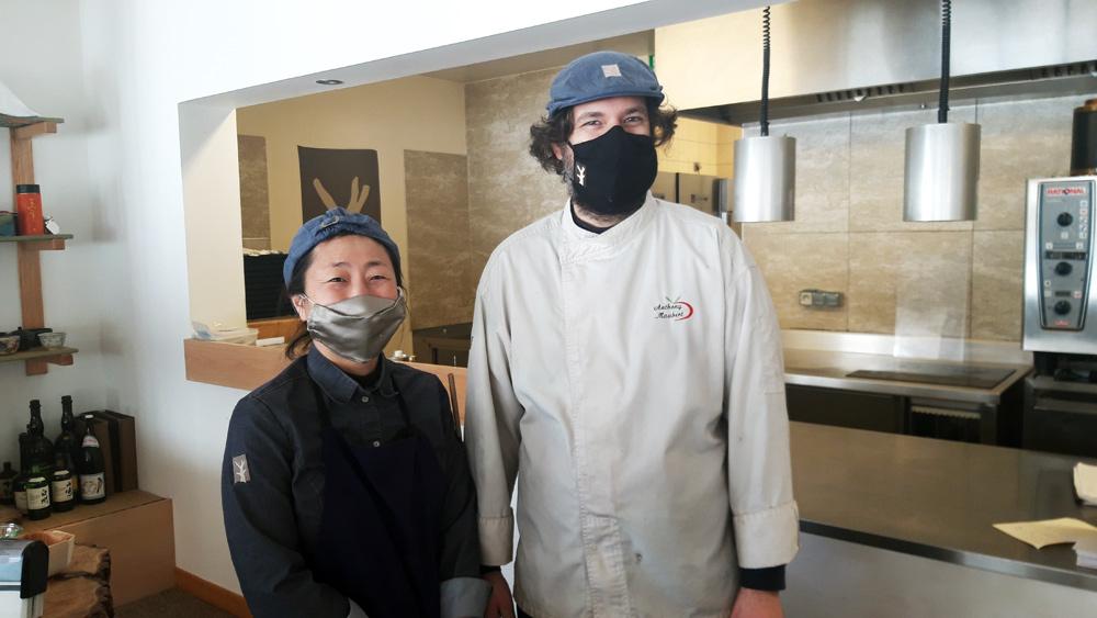 Fumiko & Anthony Maubert