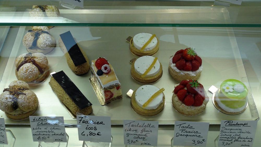 Tarte profitérolles - Eclair chocolat - Fraisier - Tartelette citron frais - Tartelette fraises - Printemps