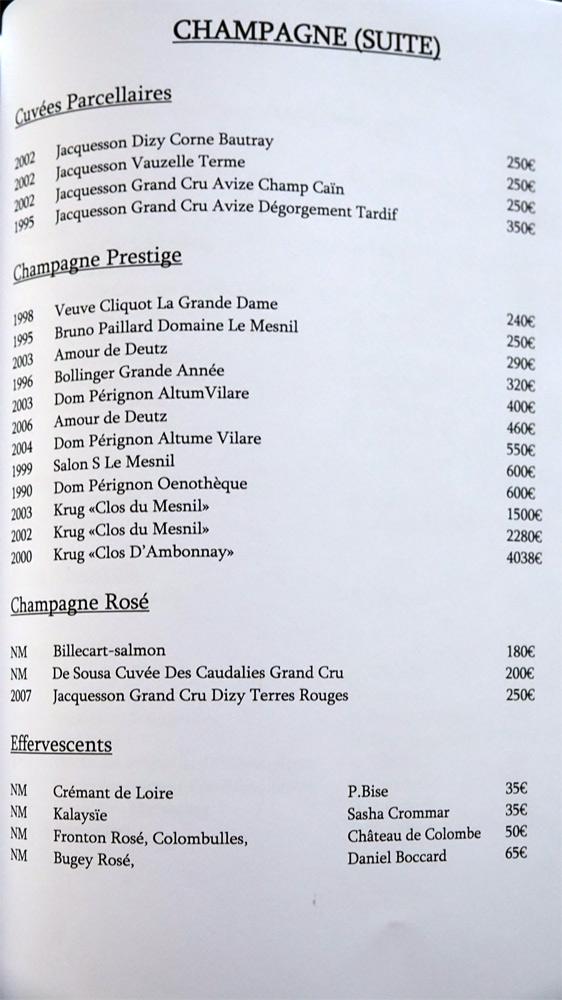 Champagne suite (23 références)