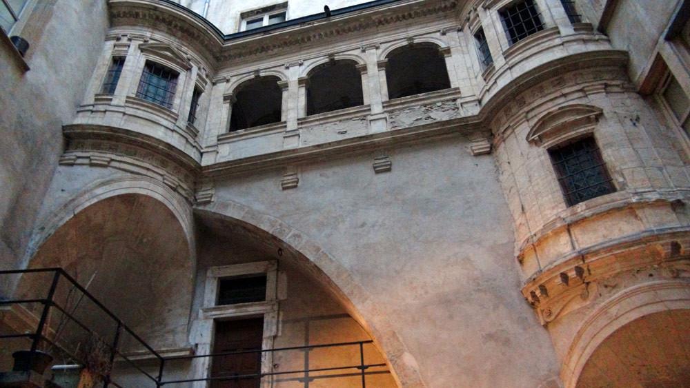 Visite des Traboules : galerie Philibert de l'Orme
