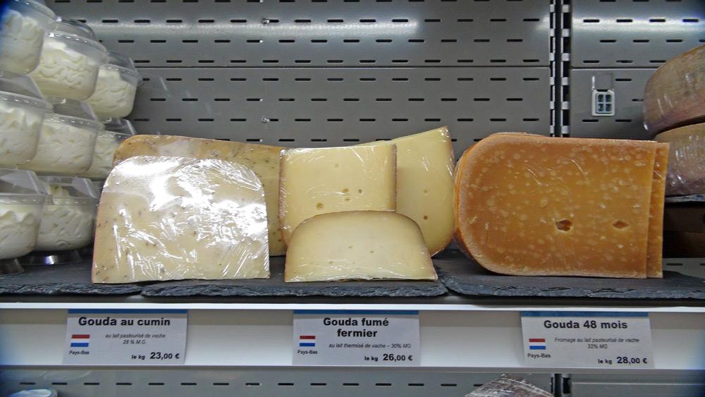 """Pâtes pressées """"hollandaise"""" ... au lait pasteurisé ou thermisé"""