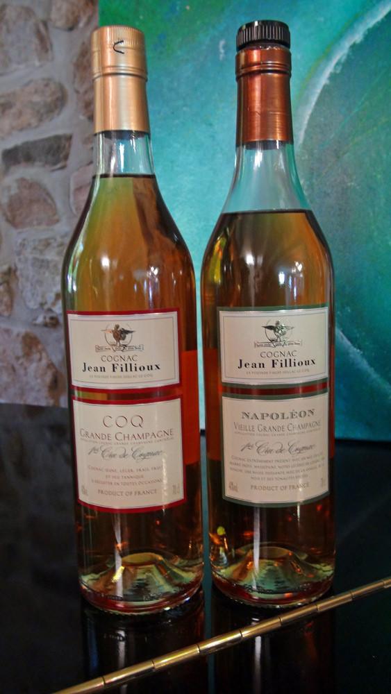 Cognac Grande Champagne de Pascal Fillioux (un copain de régiment !)