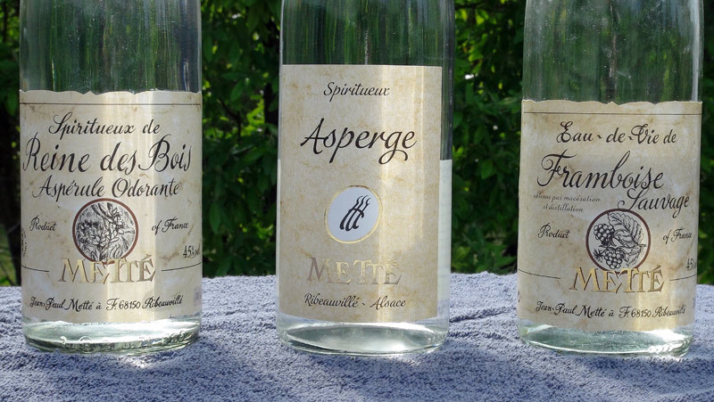 Reine des bois (Aspérule odorante) - Asperge - Framboise sauvage