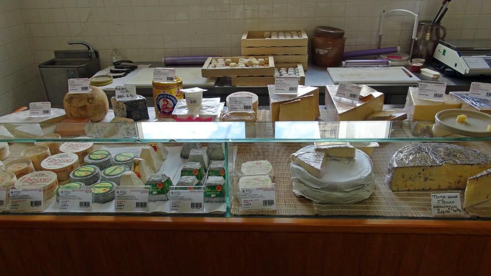 Autres fromages proposés