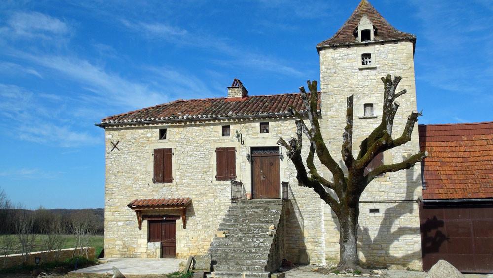 Maison à Thédirac