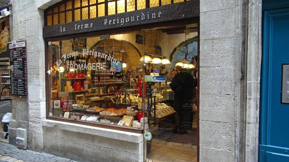 La façade de la fromagerie