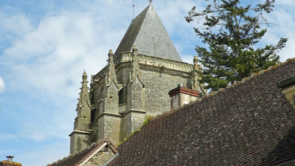 L'église de Massay, ancienne abbatiale Saint-Martin