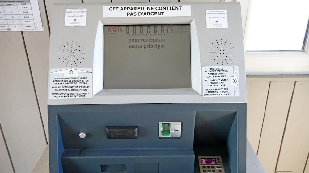 Automate de règlement