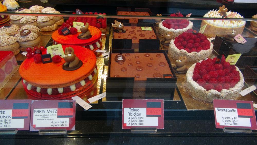 Quelques gros gâteaux dont le Paris-Metz