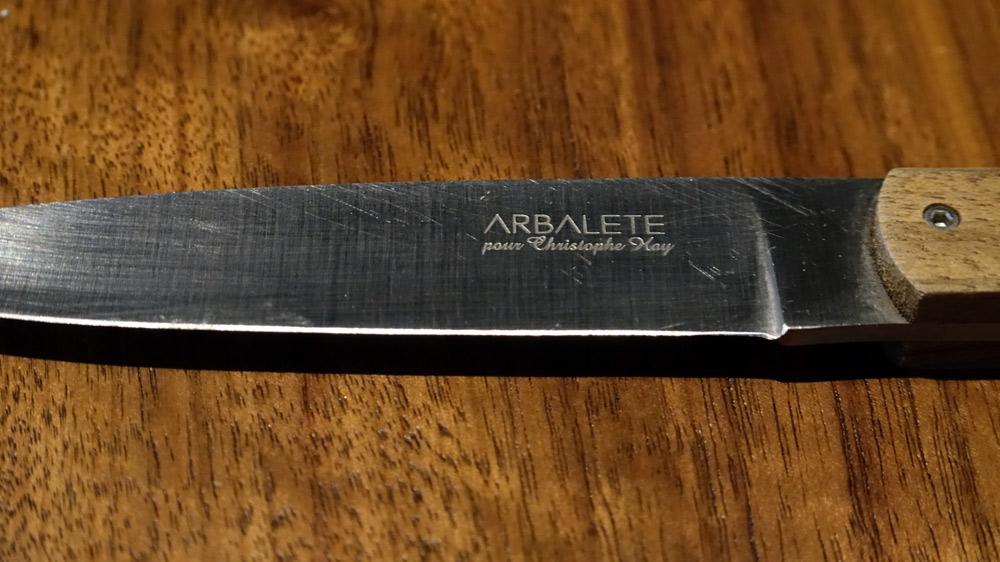"Couteau ""Arbalète"" - www.laguiole-arbalete.com"