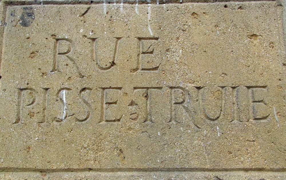 Visite des Traboules : une plaque de rue originale