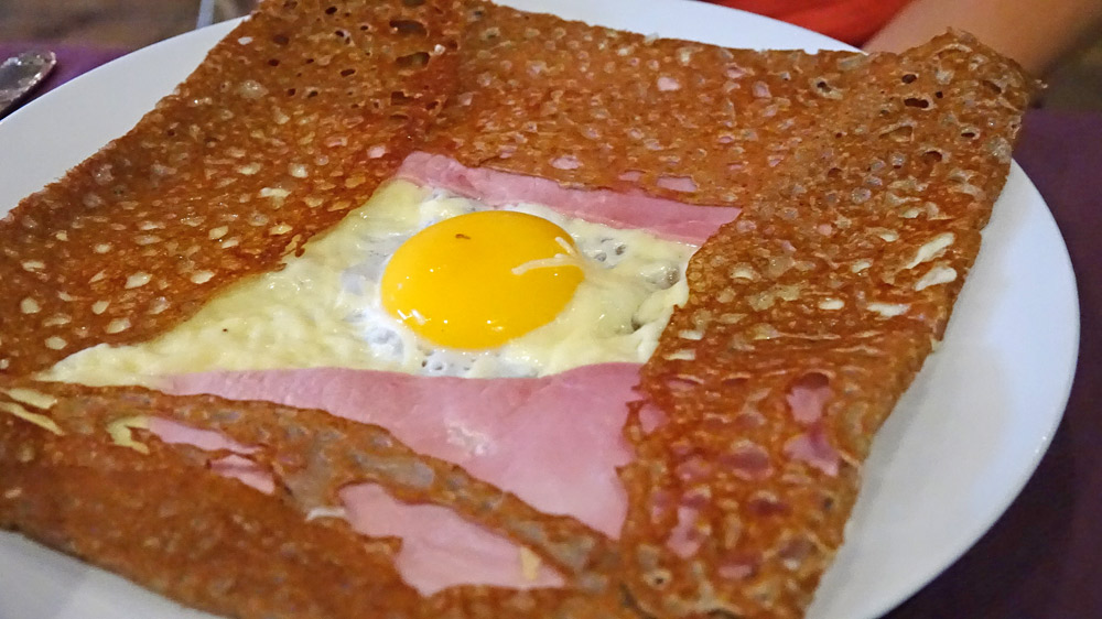 Galette complette