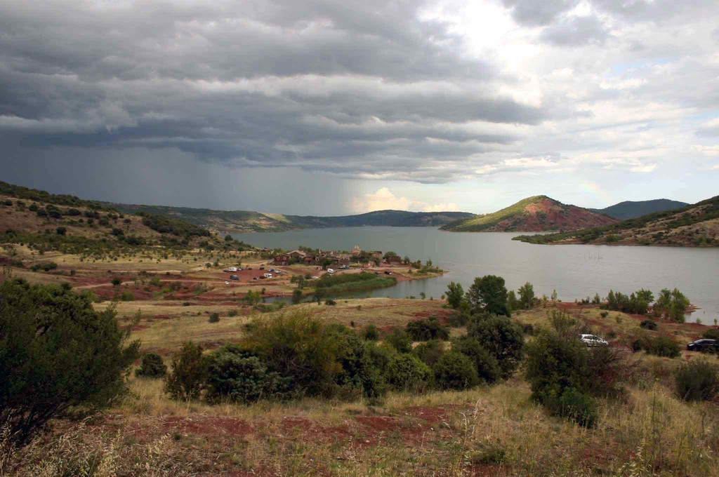 "Le lac du Salagou et sa ""ruffe"""