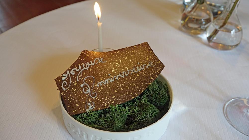 "Plaquette ""anniversaire"""