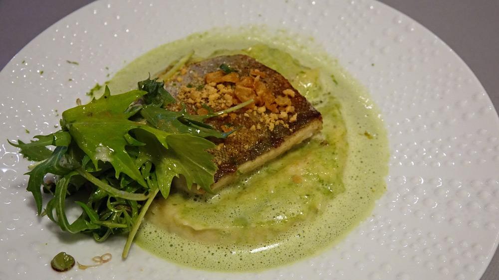 Filet de merlan, étuvée de fenouil et haddock