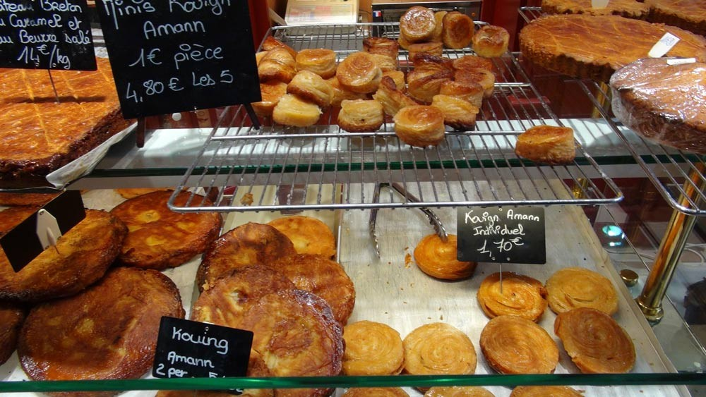 Kouign Amann & gâteaux Bretons de Le Brun à Vannes