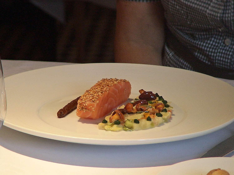 Le saumon de Norvège