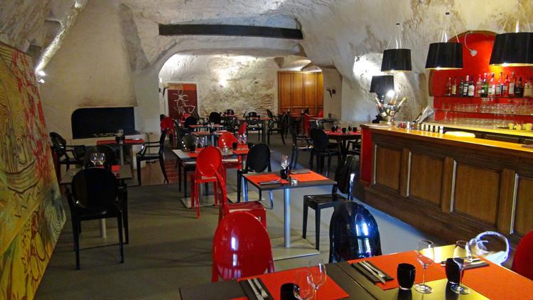 La salle à manger troglodyte