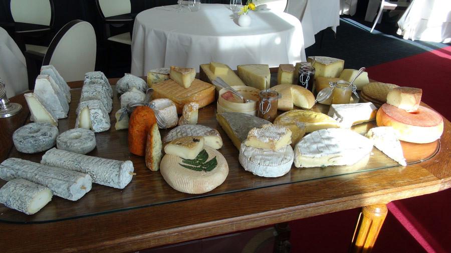 Le fabuleux chariot de fromages de chez Beillevaire