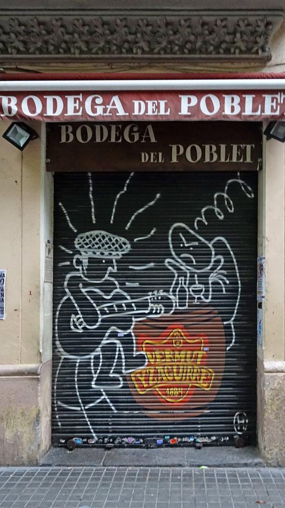 La Bodega del Poblet, à priori fermée