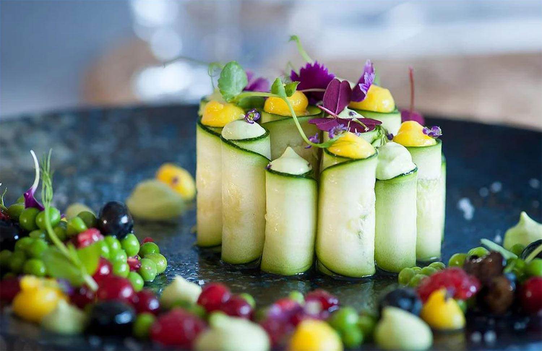 Un plat vegan de Claire Vallée - Crédit photo ONA