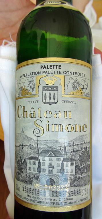 """Palette AOC """"Château Simone"""" 2008 (N° 003373)"""