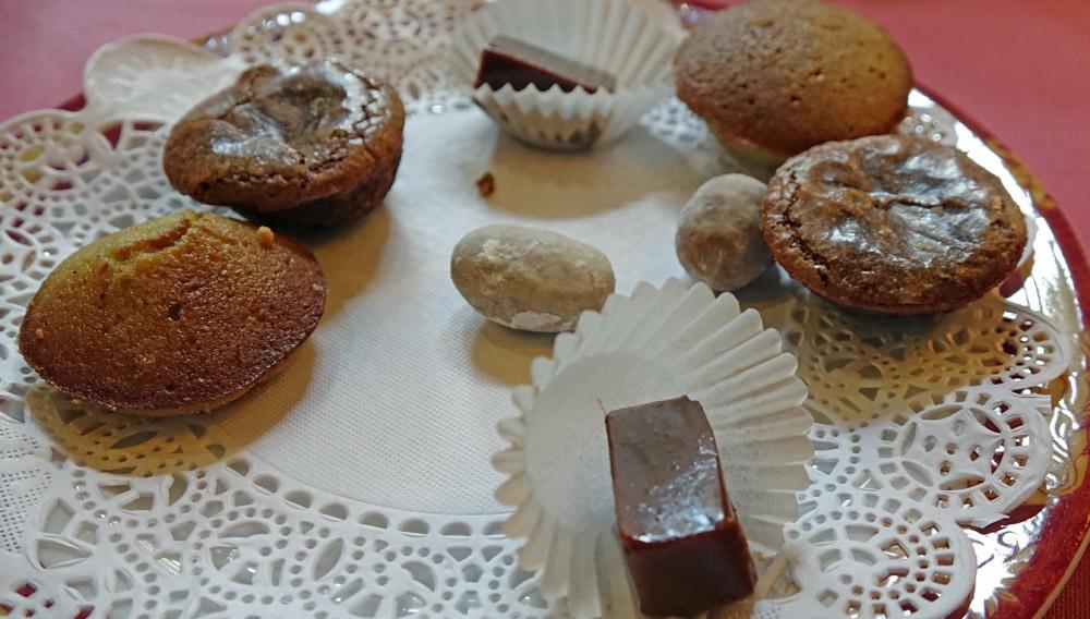 Mignardises : Caramels -