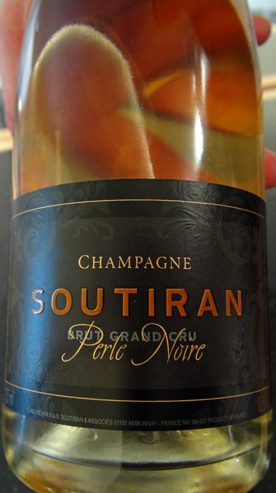 Champagne brut rosé Soutiran
