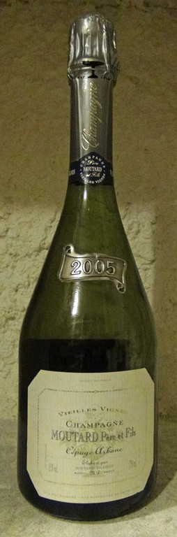 "Champagne Moutard 2005 ""Cépage Arbanne"""