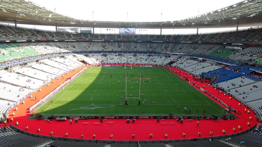 Stade de France vers 18 h 30