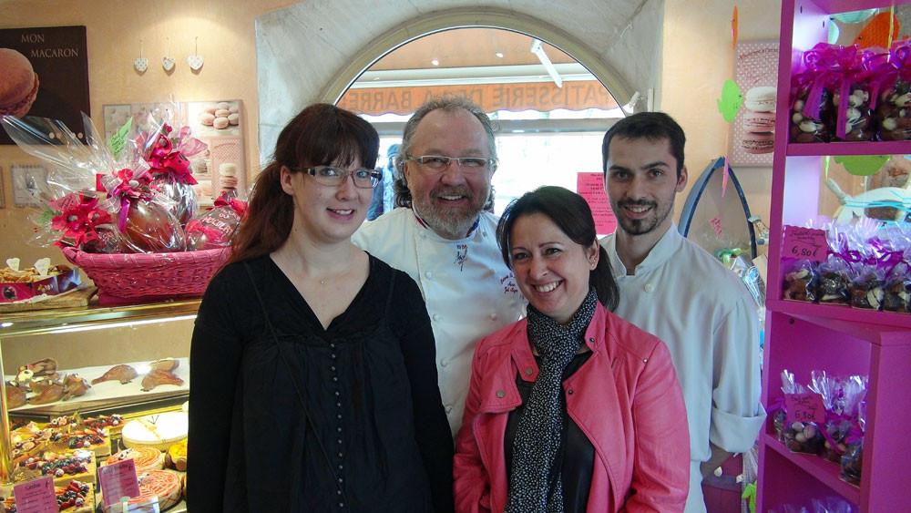 Eva, Joël, Christine & Charly Noyerie