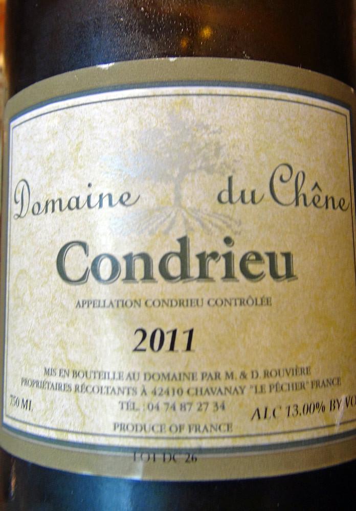 Condrieu 2011 Domaine du Chêne