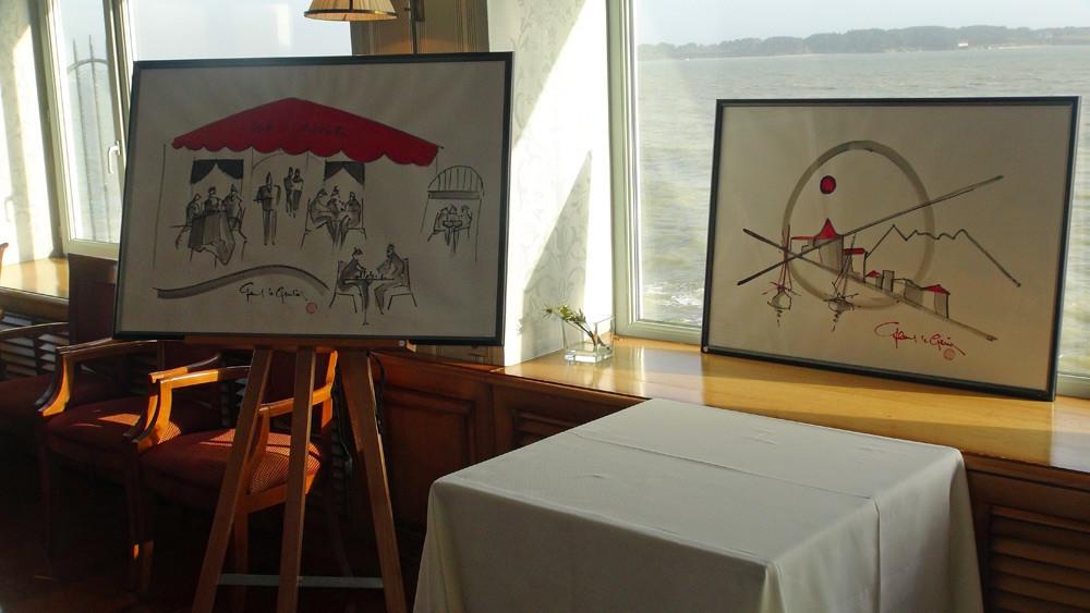 Deux autres tableaux de l'exposition d'Art du Domaine au Salon Saint-André