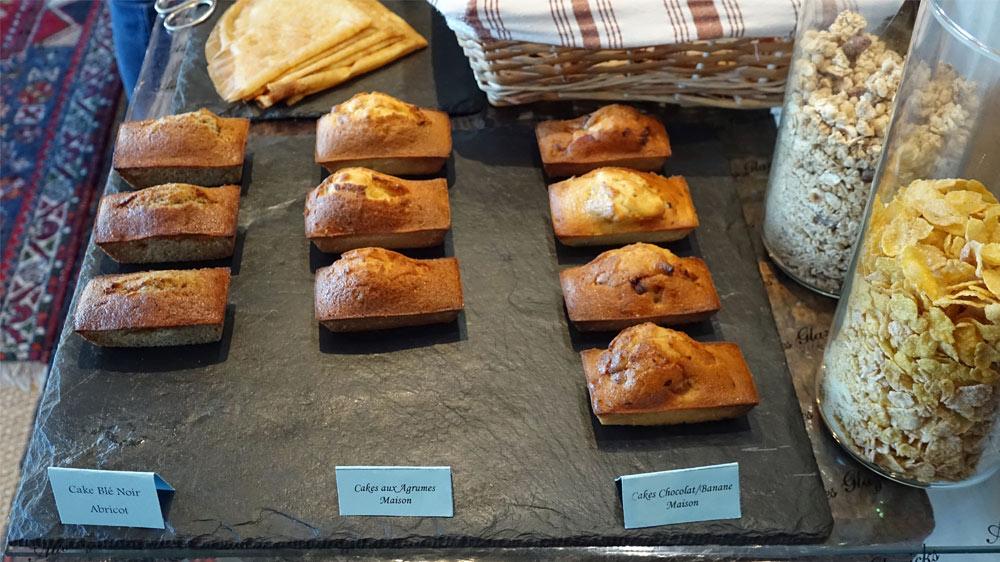 Les cakes du petit déjeuner