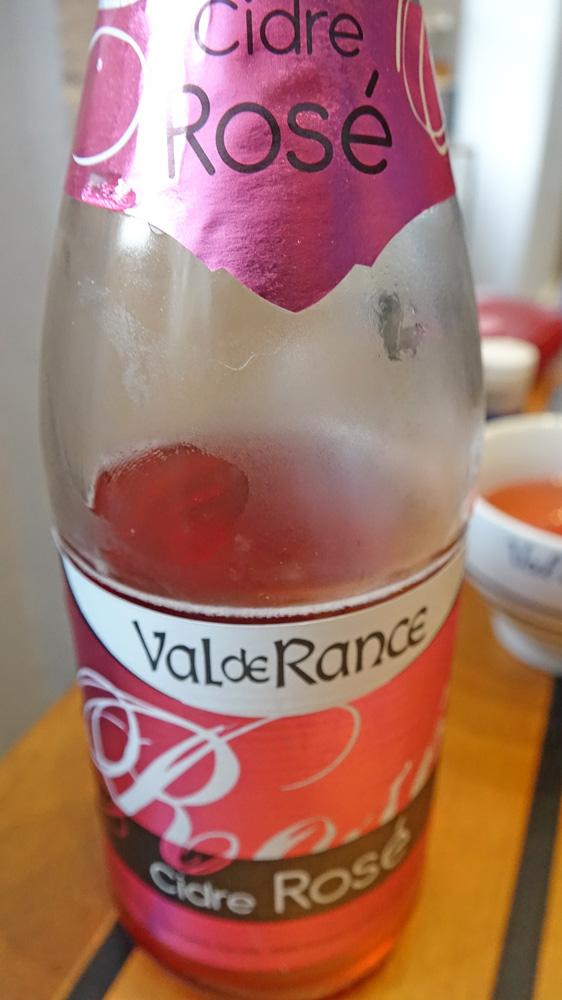 Le cidre rosé du Val de Rance