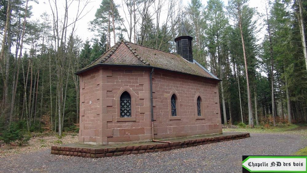 La chapelle Notre-Dame des Bois - 26 mars 2016