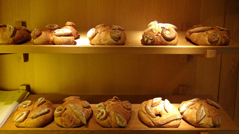 Des pains de présentation