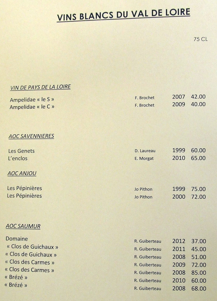 Blancs de Loire
