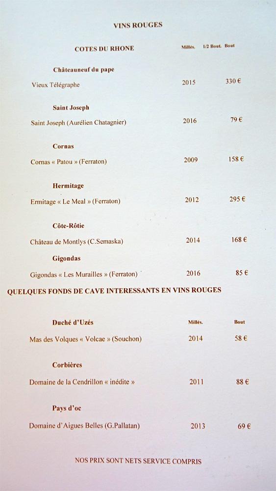 Vins rouges : Côtes du Rhône - Fonds de cave