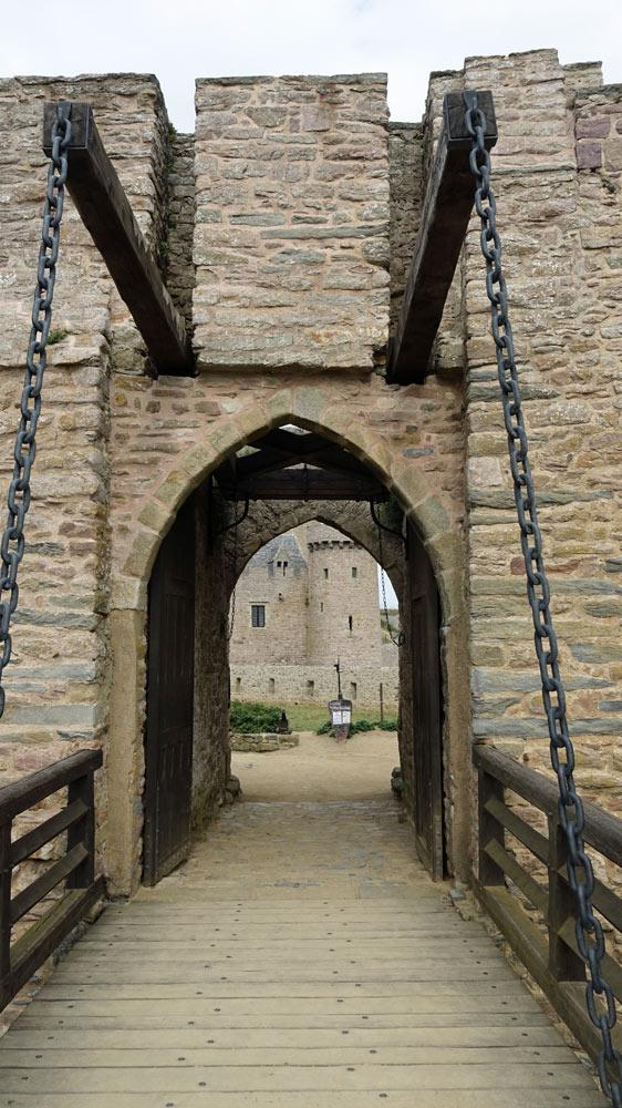 Pont-levis de Fort la Latte
