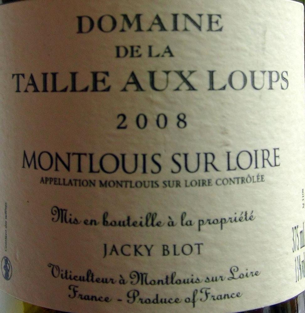Montlouis 2008 de Jacky Blot
