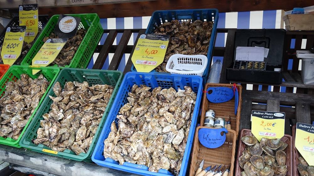 Les huîtres creuses chez Cahue