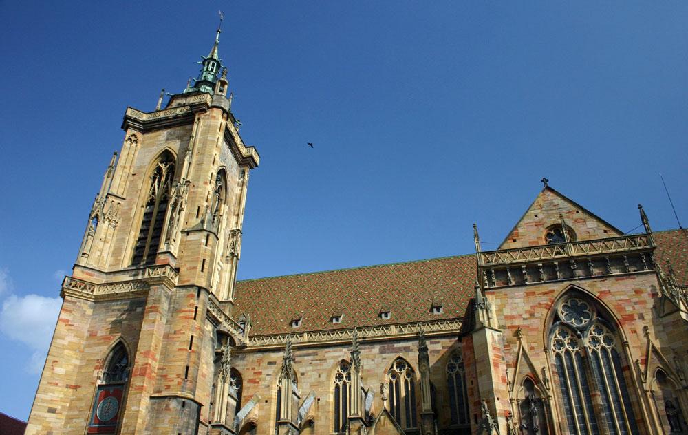 """La Collégiale Saint-Martin, appelée aussi la """"Cathédrale"""""""