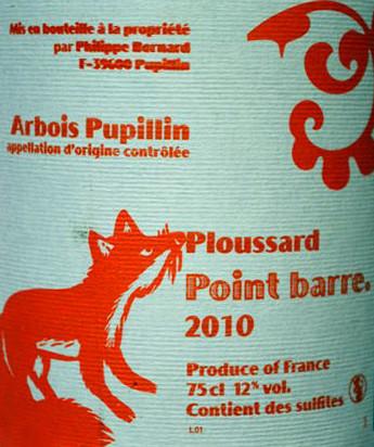 Arbois Pupillin de Philippe Bornard