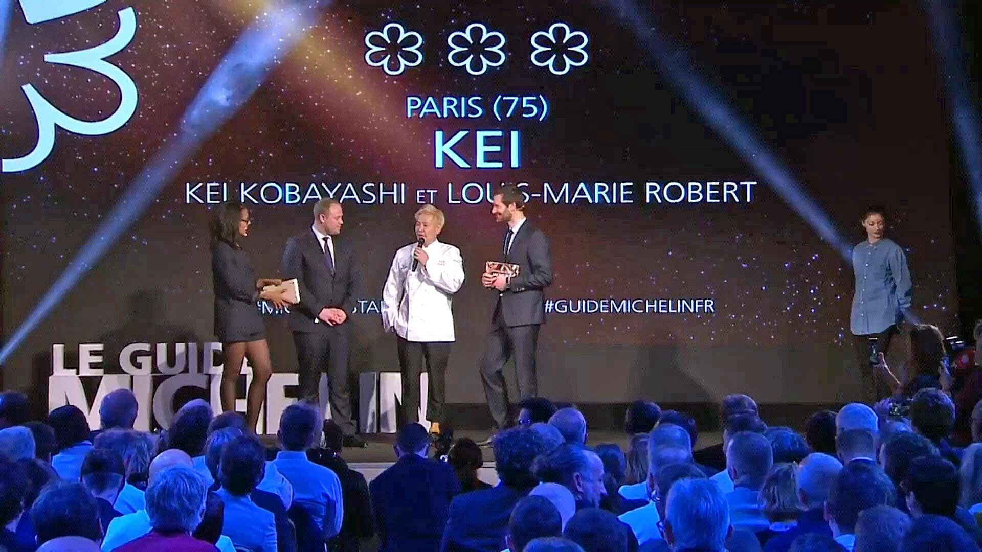 Kei Kobayashi, nouveau 3 étoiles