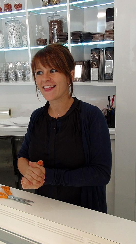 La charmante et toujours souriante Amandine - 26 septembre 2014