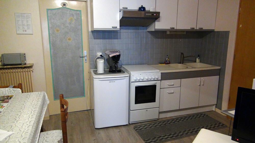 La kitchenette a disposition