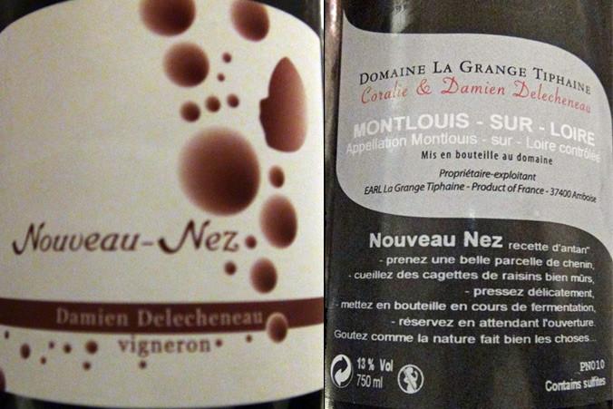 """Montlouis-sur-Loire """"Nouveau-Nez"""" 2010"""