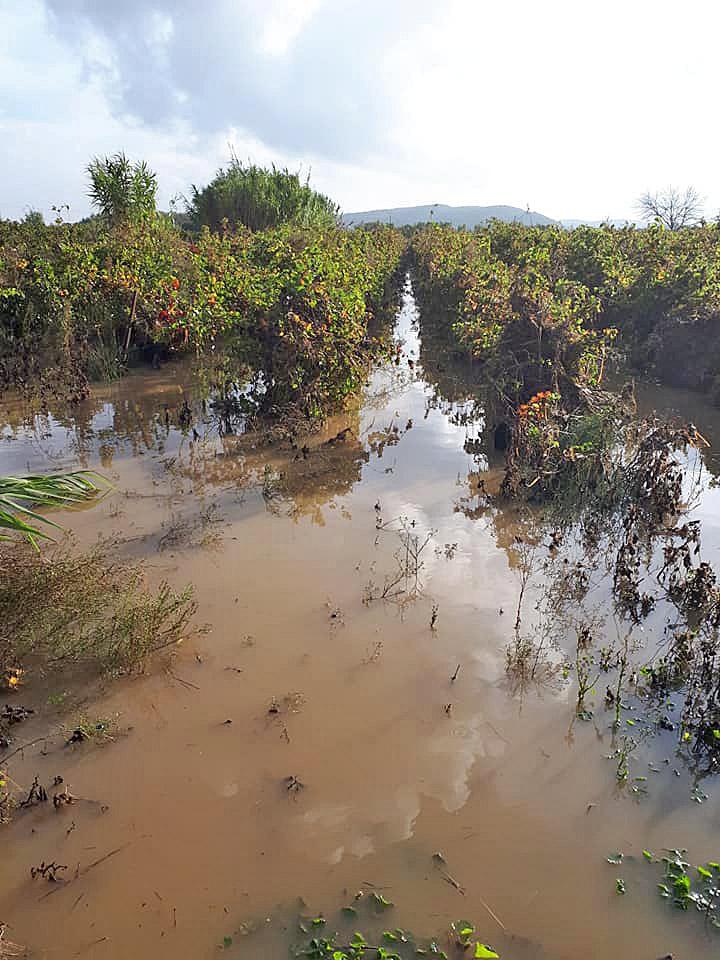Mi-octobre 2018, les inondations à Ornaisons